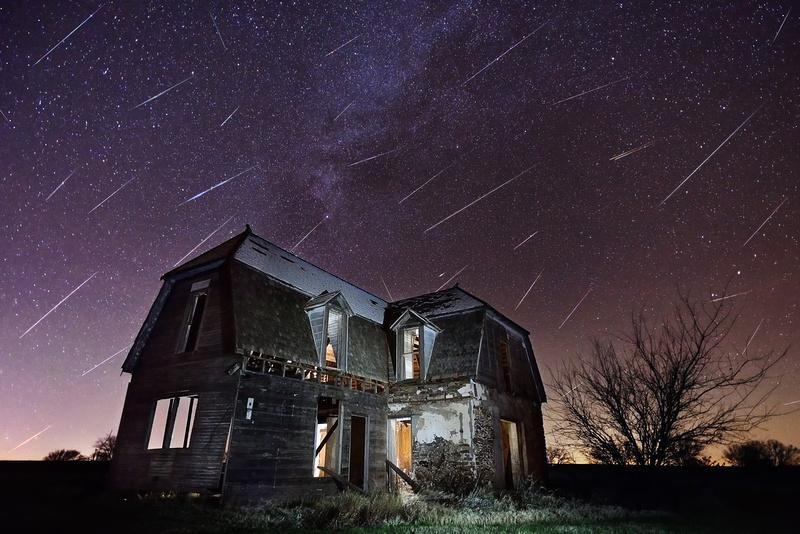 2015 Geminids Meteor Shower