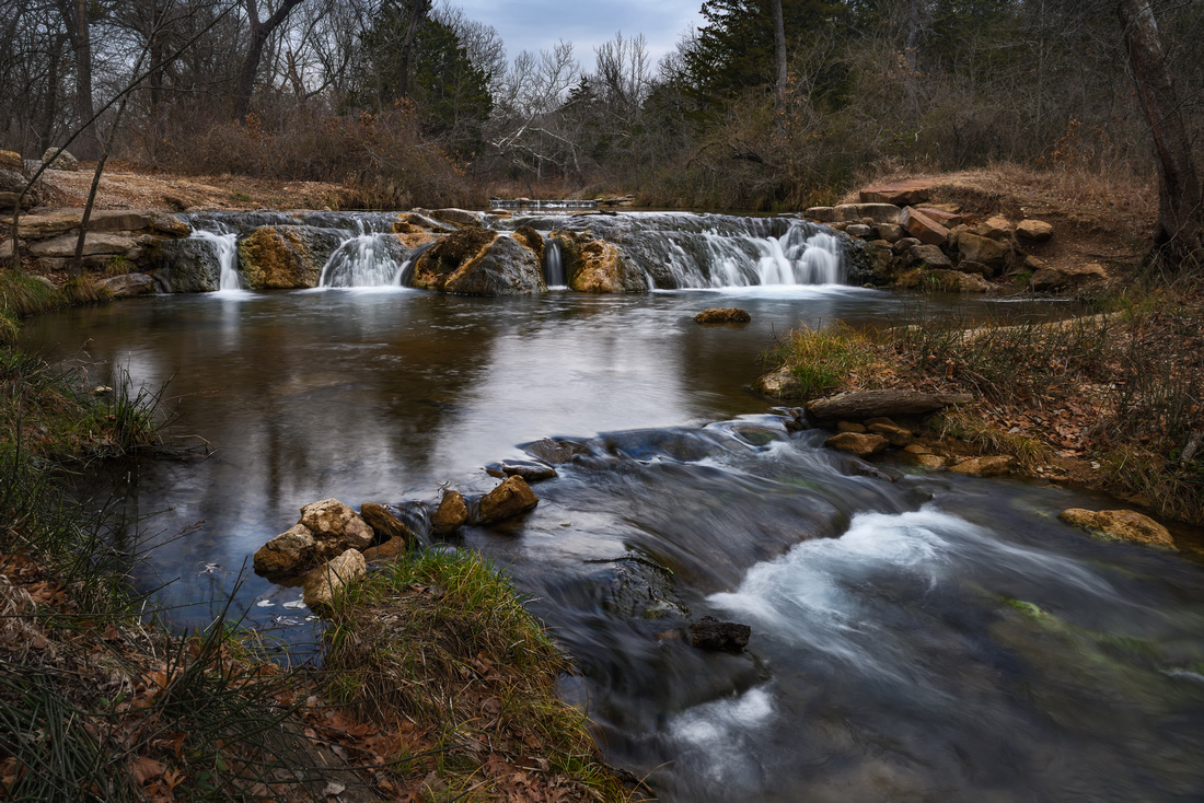 Travertine Creek Waterfalls