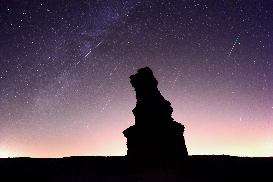 2015 Perseids Meteor Shower: Palo Duro Canyon, TX
