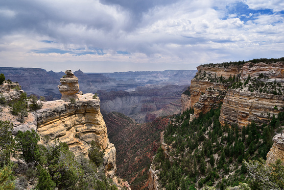 Duck Rock Point: Grand Canyon National Park