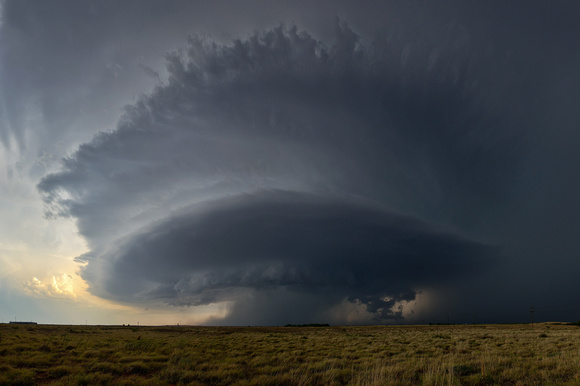 Carey, TX Supercell